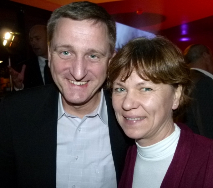 Dr. Gerhard Nowak mit Ehefrau (Foto: K.Neddermeyer)
