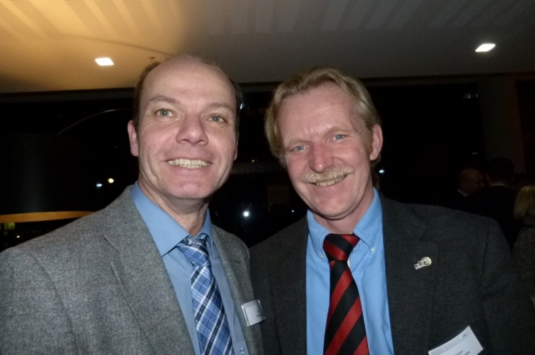 Jürgen Beckmann und Jürgen Brüggemann (Foto: K.Neddermeyer)