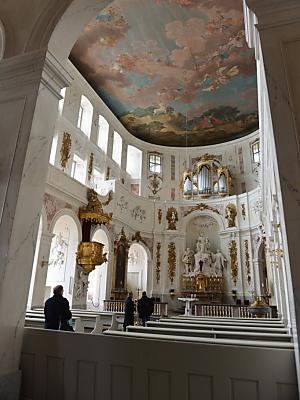 Hubertusburg präsentiert Friedensfenster (dapd)