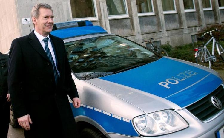 Wulff sagt im Prozess gegen Ex-Vertrauten Glaeseker aus (© 2014 AFP)