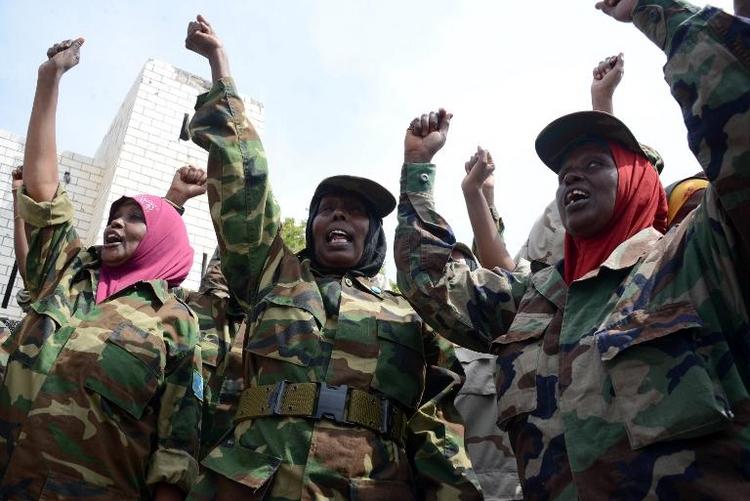 Grüne skeptisch bei Somalia-Einsatz (© 2014 AFP)