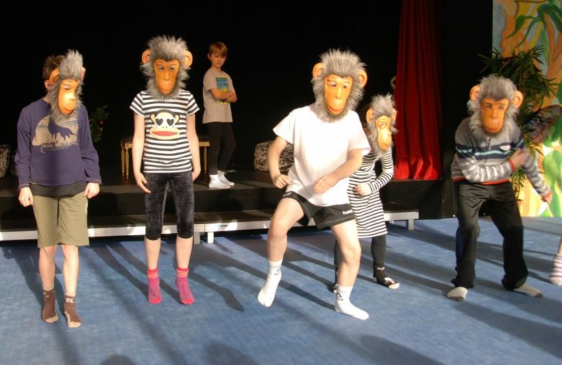 Krefelder Grundschüler sind seit dem vergangenen Herbst die kreative Inszenierungsklasse im Rahmen des Kulturrucksacks (Foto: Stadt Krefeld)