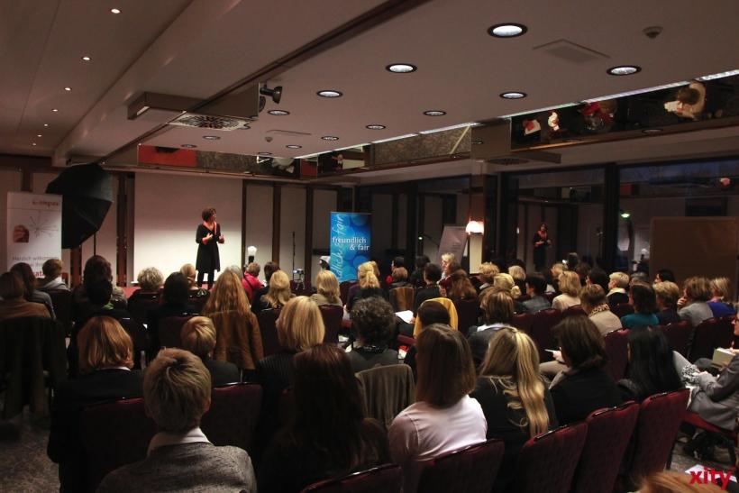 "Thema des dritten Frauenerfolgsforums war der ""Erfolgsfaktor Resilienz"" (xity-Foto: P. Basarir)"