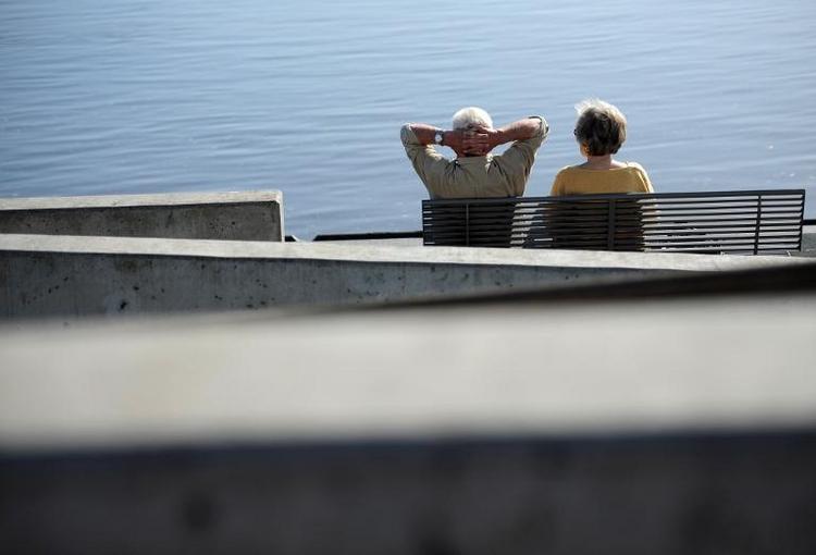 Rentenkassen-Reserven steigen offenbar auf Rekordhöhe (© 2014 AFP)