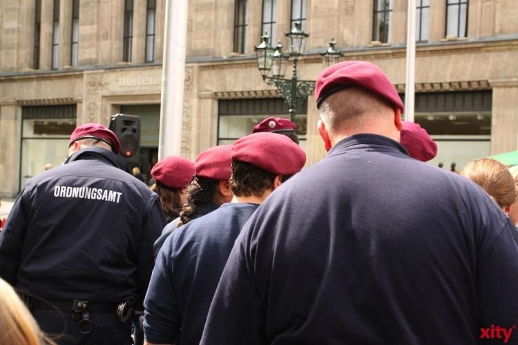 Das Ordnungsamt Düsseldorf zieht Bilanz (xity-Foto: D. Mundstock)