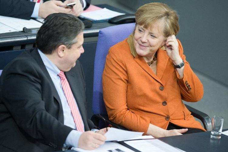 SPD laut Umfrage eher als Union Zugpferd der Regierung (© 2014 AFP)