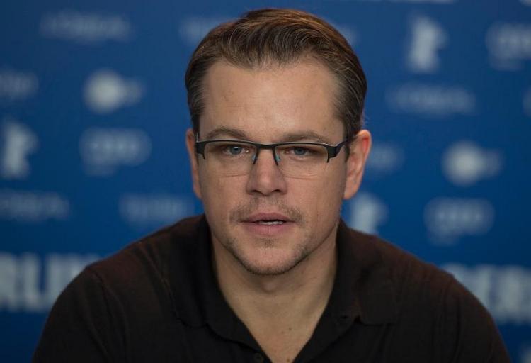 Matt Damon verabscheut die deutsche Küche (© 2014 AFP)
