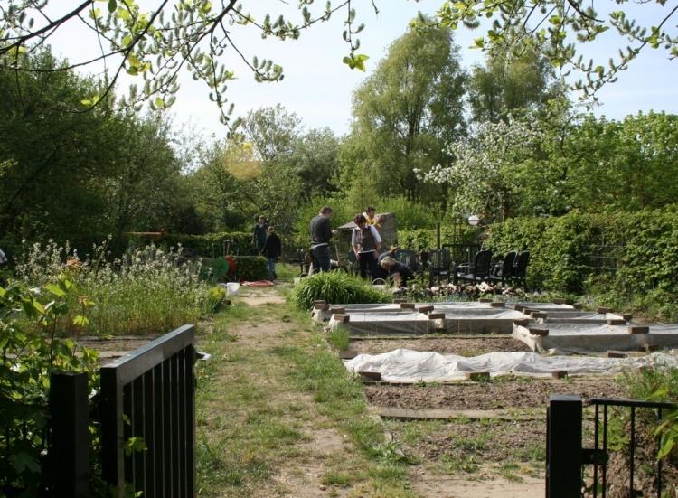 """""""Offene Gartenpforte 2014"""" in Krefeld (M. Völker)"""