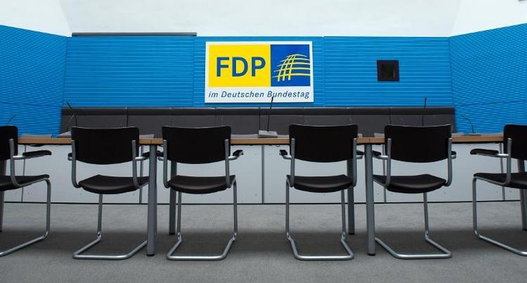 Jeder Vierte vermisst die FDP (© 2014 AFP)
