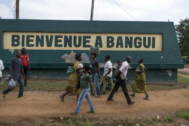 Von der Leyen: Kein Kampfeinsatz in Zentralafrika (© 2014 AFP)