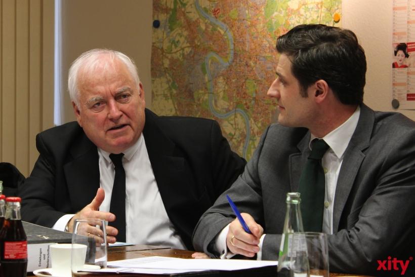 CDU und FDP stellen Anträge für die kommende Ratssitzung vor (xity-Foto: D. Postert)