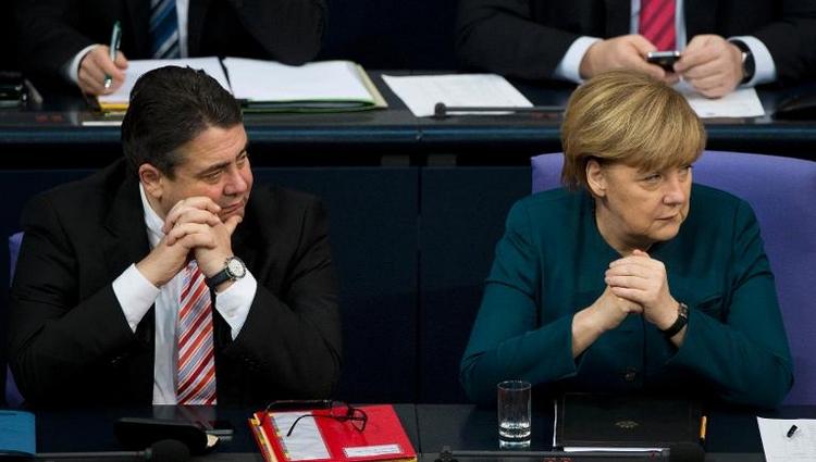 Bundestag debattiert über Konjunktur und Bundeswehr (© 2014 AFP)
