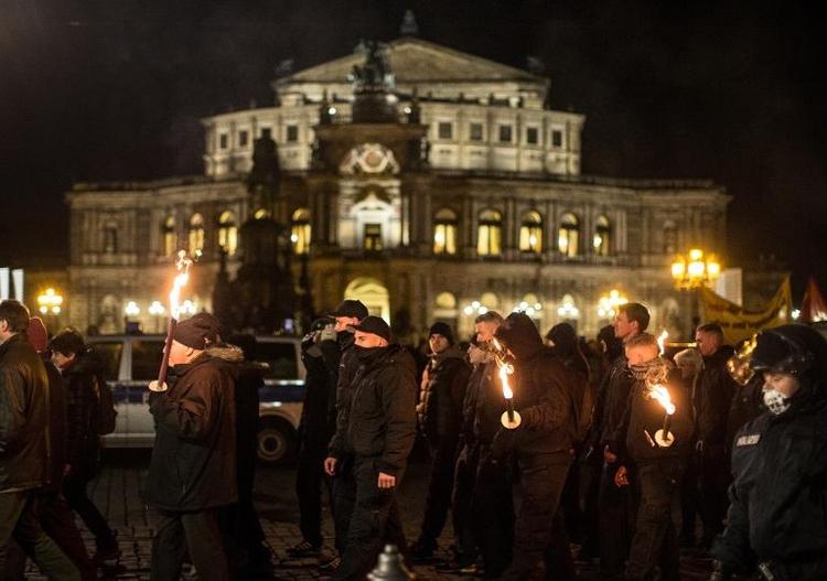 Dresden will Zeichen gegen Neonazi-Aufmarsch setzen (© 2014 AFP)