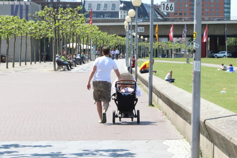 """Eltern sind in der """"Rush-Hour des Lebens"""" wenig krank (xity-Foto: D. Postert)"""