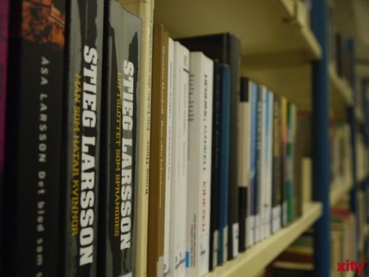 Lesung zu ′Die Sonnenposition′ in der Zentralbibliothek Düsseldorf (xity-Foto: D. Postert)