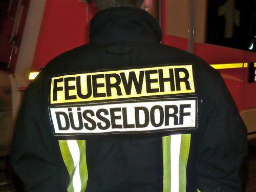 Nächtliche Brandeinsätze in Düsseldorf (xity-Foto: M. Völker)