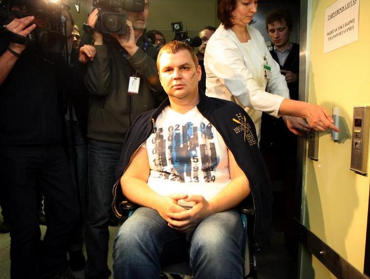 Ukrainischer Aktivist Bulatow kommt nach Deutschland (© 2014 AFP)