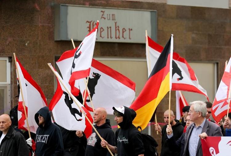 "Neonazi-Treffpunkt ""Zum Henker"" in Berlin muss schließen (© 2014 AFP)"