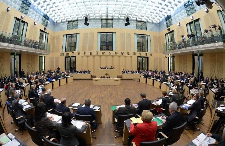 Debatte über angebliche Armutszuwanderung im Bundesrat (© 2014 AFP)