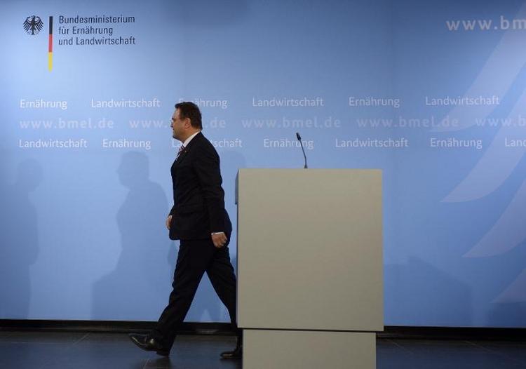 Agrarminister Friedrich tritt wegen Edathy-Affäre zurück (© 2014 AFP)