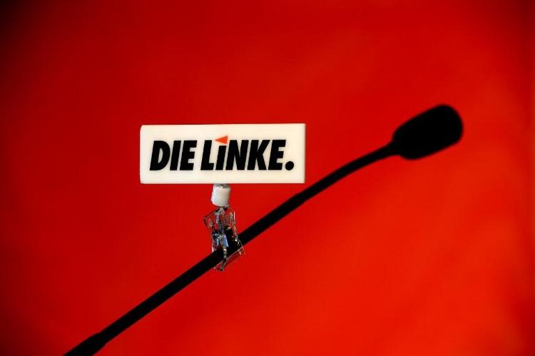 Linke kommt in Hamburg zu Europaparteitag zusammen (© 2014 AFP)
