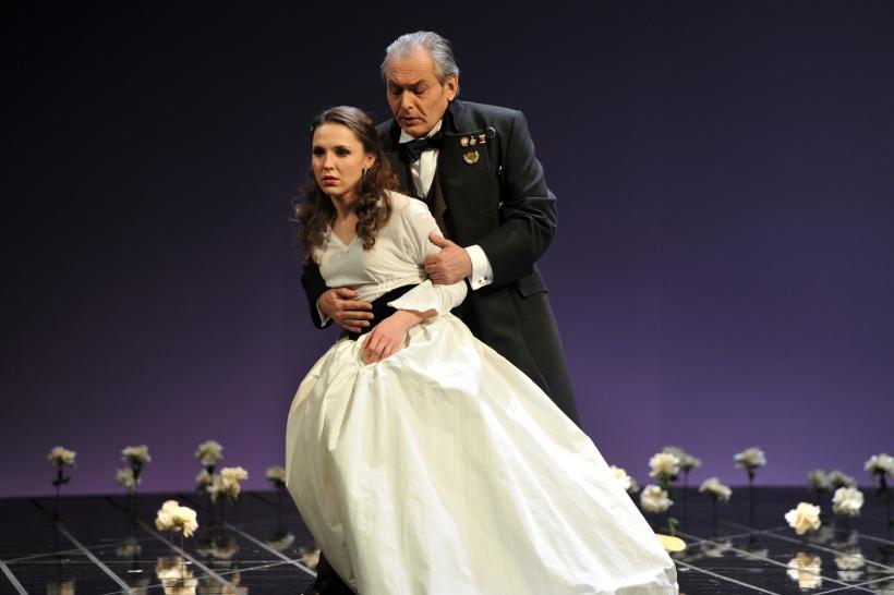 """Opernwerkstatt zu """"La Traviata"""" (Foto: Hans Jörg Michel)"""