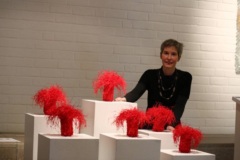 Dr. Isa Fleischmann-Heck, stellvertretende Museumsleiterin und Kuratorin der Krefelder Ausstellung (Foto: Stadt Krefeld)