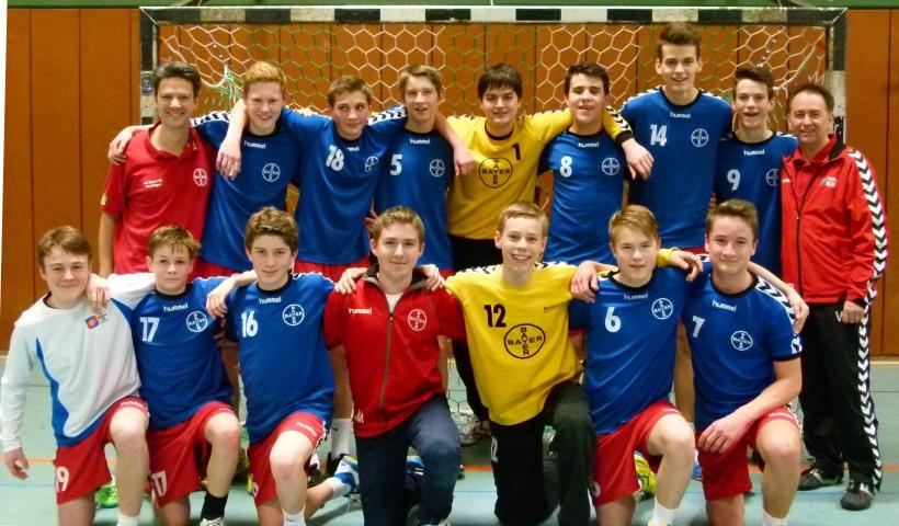 Der C1 des SC Bayer ist vorzeitig Handball-Verbandsligameister (Foto: SC Bayer)