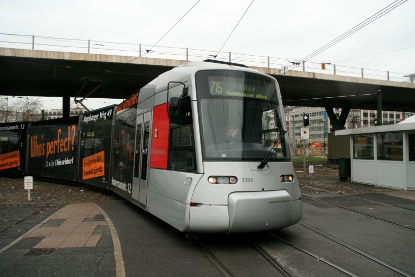 Auch an den Tollen Tagen fährt die Rheinbahn (xity-Foto: M.Völker)