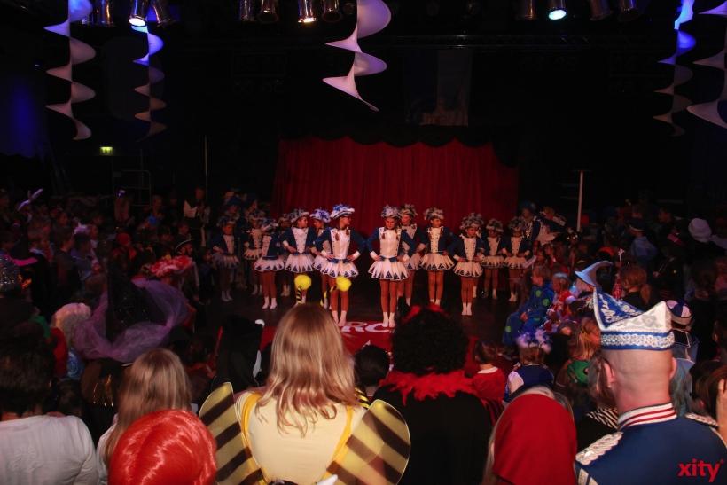 Am Sonntag feierte die Prinzengarde Blau-Weiss Kinderkarneval (xity-Foto: P. Basarir)