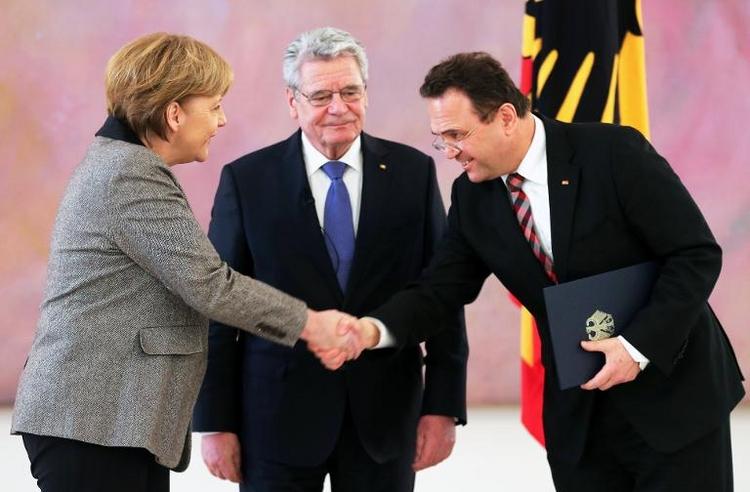 Friedrich wird Unionsfraktionsvize im Bundestag (© 2014 AFP)