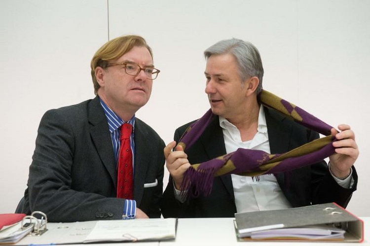 Berliner Senat nimmt Entlassung von André Schmitz zurück (© 2014 AFP)