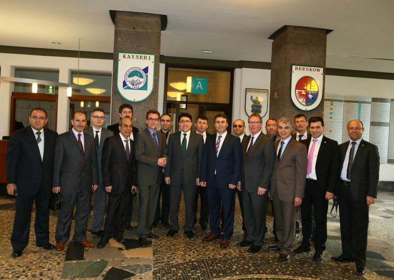 Polizei-Delegation aus türkischer Provinz Kayseri zu Gast in Krefeld (Foto: Stadt Krefeld)