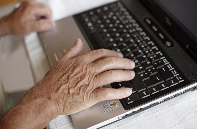 """Wissenschaftsjahr zur """"Digitalen Gesellschaft"""" eröffnet (© 2014 AFP)"""
