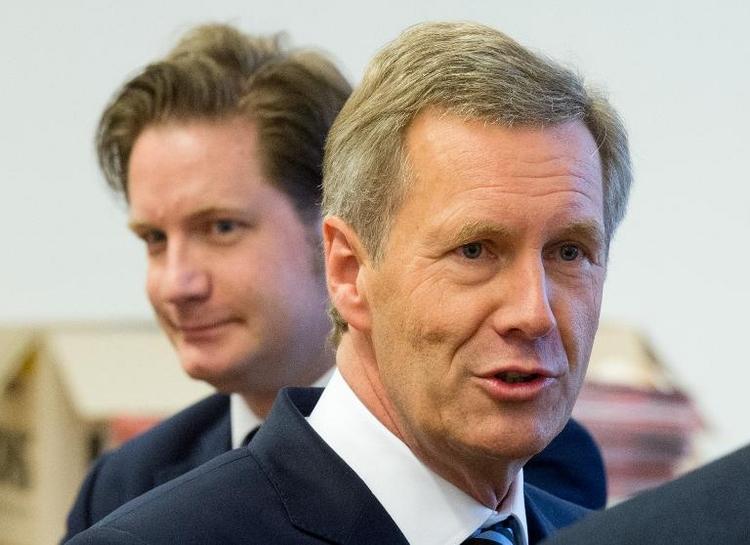 Plädoyers im Korruptionsprozess gegen Wulff (© 2014 AFP)