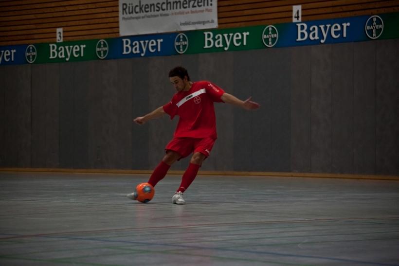 Timo Heinze, Bayers Torgarantie trifft jedes Spiel. (Foto: Sportclub Bayer 05 Uerdingen)