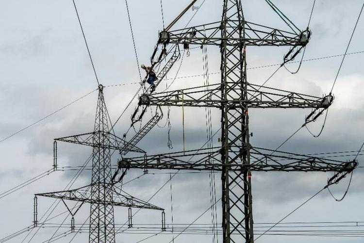Große Mehrheit der Bayern für neue Stromtrassen (© 2014 AFP)