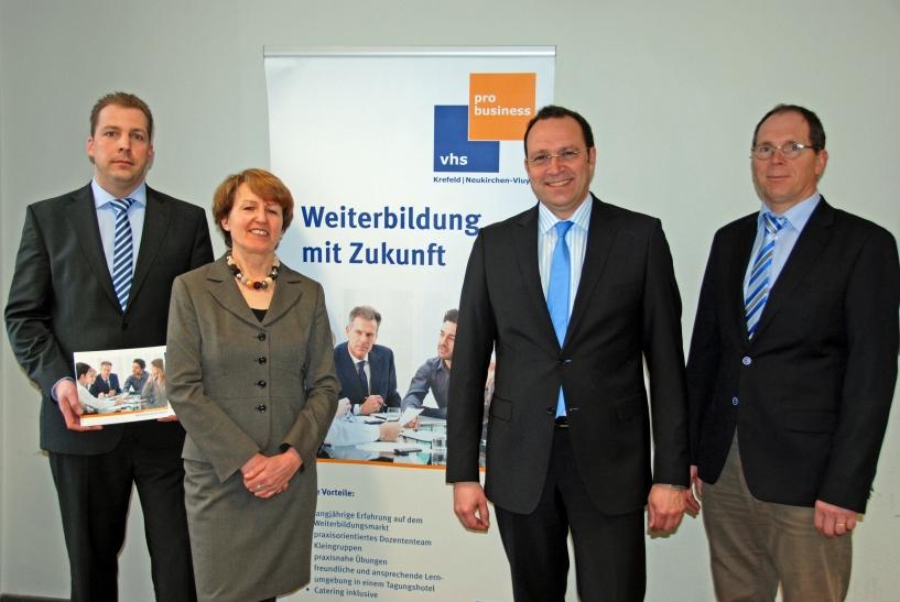 """Veranstaltung """"Fit für 2020 - Gesundheit und Know-how für Unternehmen"""" (Foto: Stadt Krefeld)"""