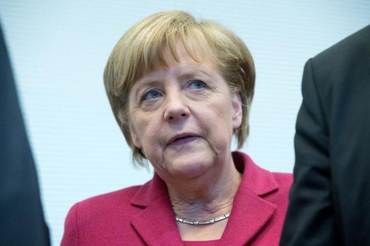 Merkel betont Bedeutung deutsch-israelischer Beziehungen (© 2014 AFP)