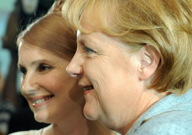 In Kürze Treffen Timoschenkos mit Merkel geplant (© 2014 AFP)