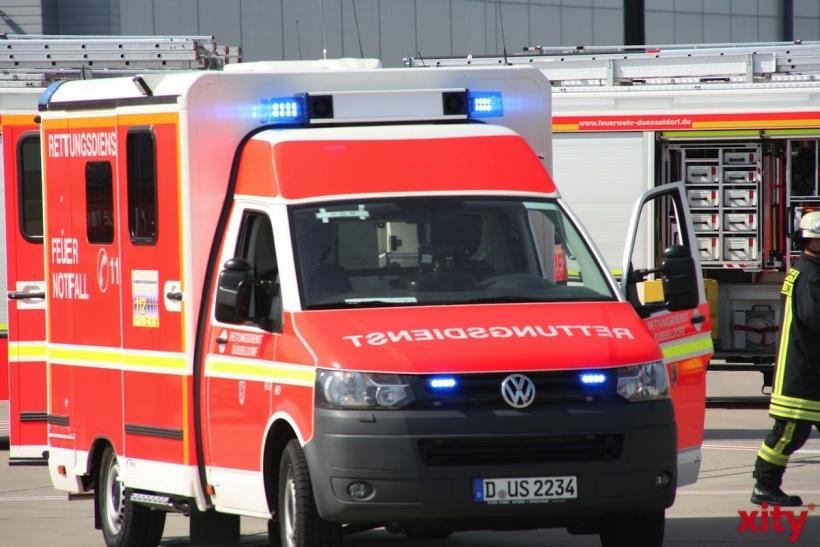 Schnelle Hilfe bei Notfällen zu Karneval (xity-Foto: M. Völker)