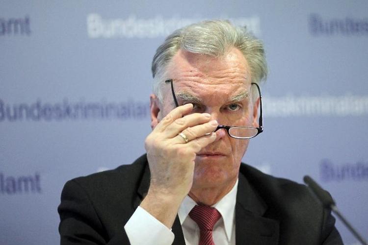 BKA empört über Vorwürfe gegen Mitarbeiter (© 2014 AFP)