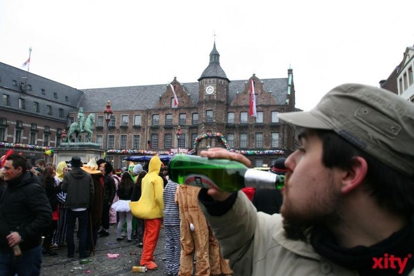 Straßenkarneval in Düsseldorf(xity-Foto:M.Völker)