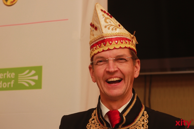 CC-Präsident Josef Hinkel freut sich besonders auf den Rosenmontagszug (xity-Foto: P. Basarir)