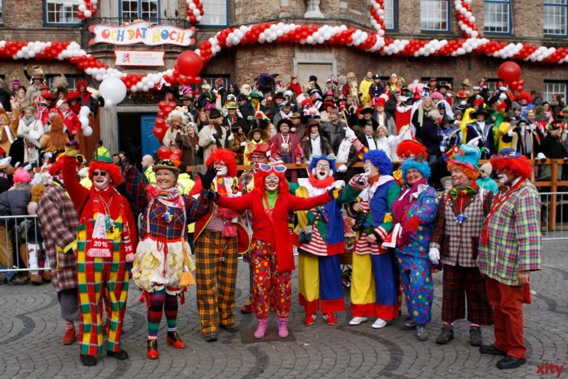 Die Jecken bereiten sich auf die Höhepunkte der Karnevalssession 2013/2014 vor (xity-Foto: D. Creutz)