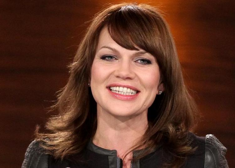 Schauspielerin Anna Loos kritisiert Alice Schwarzer (© 2014 AFP)
