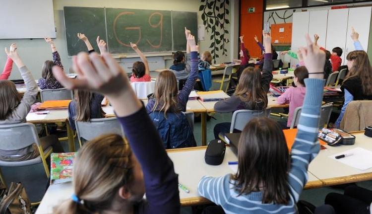 Mehrheit der Deutschen für neunjährige Gymnasialzeit (© 2014 AFP)
