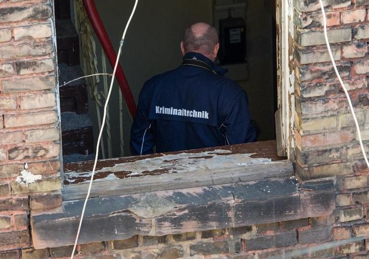 Drei Kinder sterben bei Wohnungsbrand in Mannheim (© 2014 AFP)