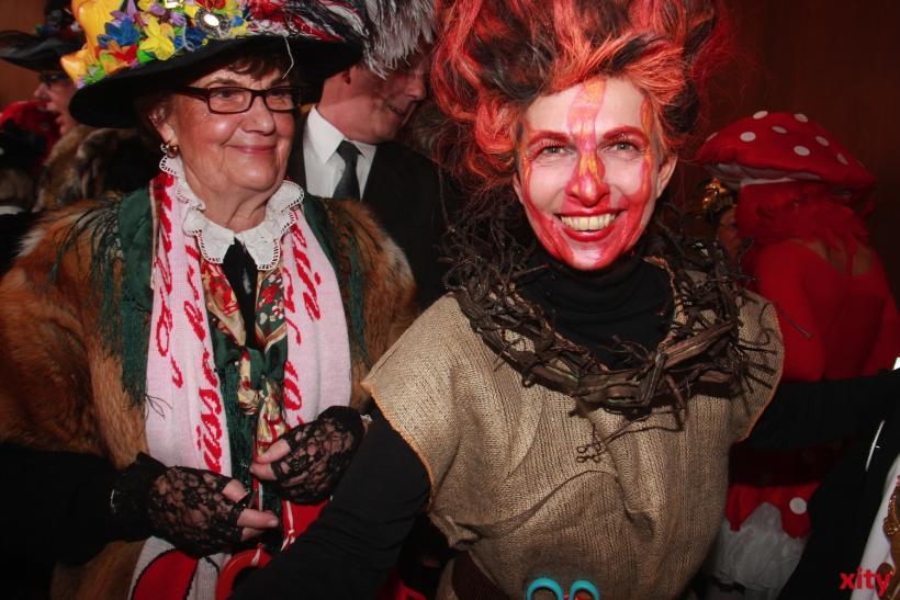 Marie-Agnes Strack-Zimmermann mit einer legendären Verkleidung (xity-Foto: P.Basarir)