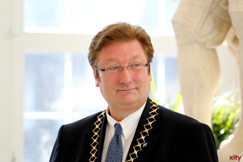 Oberbürgermeister Dirk Elbers lädt am internationalen Frauentag zum Festakt (xity-Foto: D. Creutz)